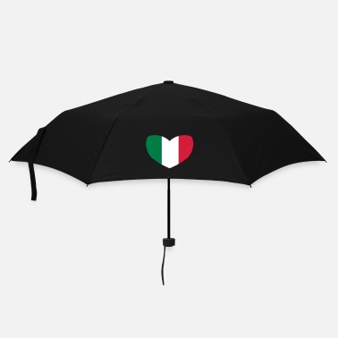 Italian Flag Italian Flag Heart - Umbrella (small)