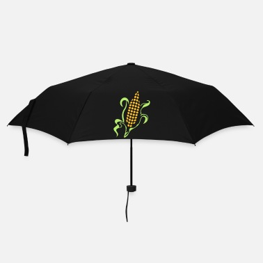 Year husked corn on the cob - Umbrella