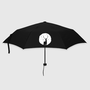 Antler Deer Patch Graffiti - Umbrella (small)