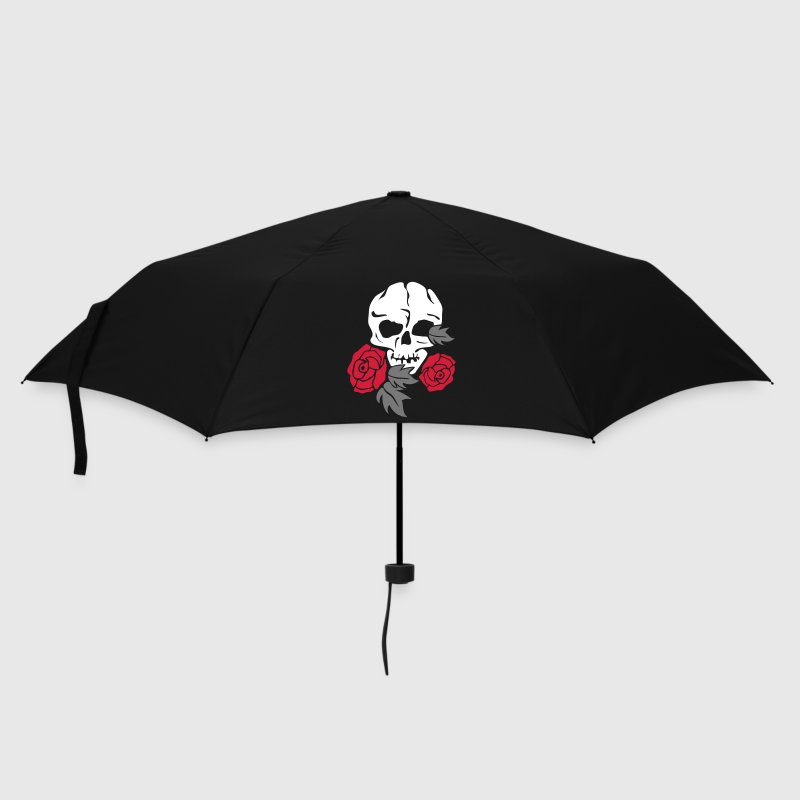 skull and rose - Umbrella (small)