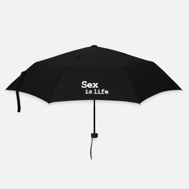 Sex sex is life - Umbrella (small)