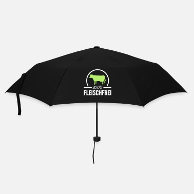 Vegan 100% meat free - Umbrella (small)