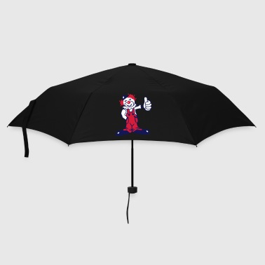 A funny clown - Umbrella (small)