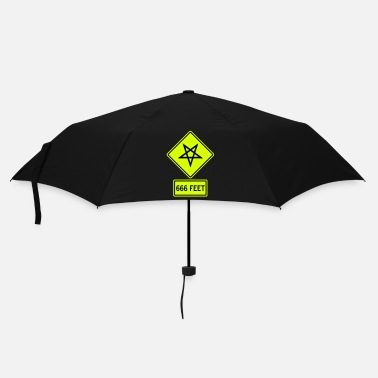 Heavy Metal  Satanic Danger Traffic - Umbrella