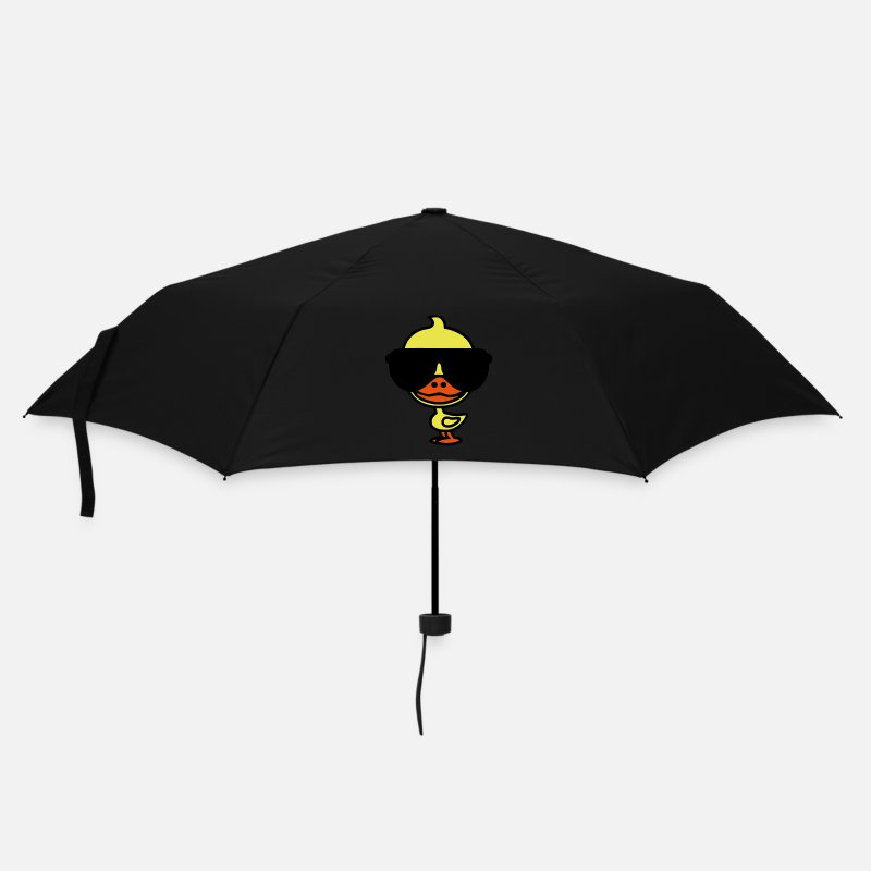 Duck Umbrellas - Cool Duck - Umbrella black