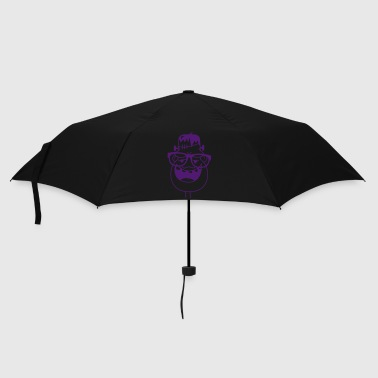 Frankenstein with nerd glasses - Umbrella (small)