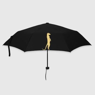 meerkat surikat moon - Umbrella (small)
