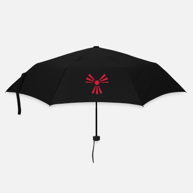 Sun Signs Radiation Sign (Rising Sun) (Vector) - Umbrella