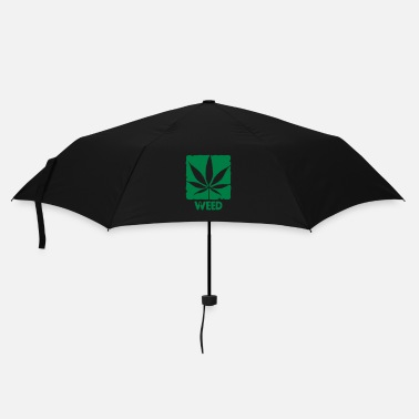 Cannabis weed with boxed leaf - Parapluie standard