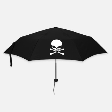 Tribal Tete de mort pirate tribal - Parapluie standard