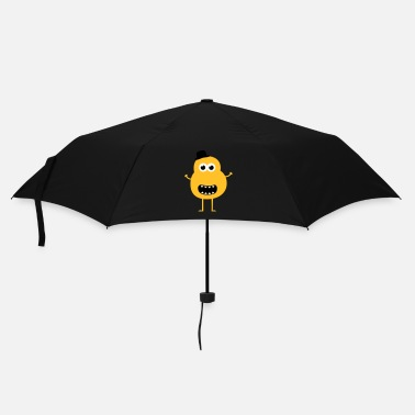 Crazy Funny Vintage Monster - Umbrella