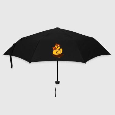 Rubber Duck A rubber duck with crown - Umbrella (small)
