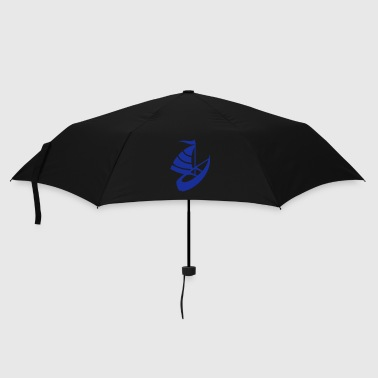 Sailing boat on the water - Umbrella (small)