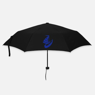 Boat Sailing boat on the water - Umbrella (small)