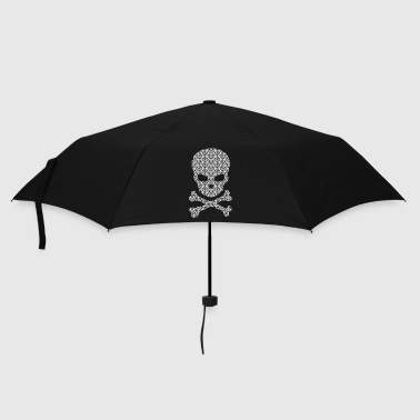 Skull And Crossbones A patterned Skull - Umbrella (small)