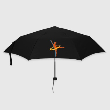 Erotic two Ballet dancer - Umbrella (small)