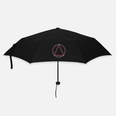 Triangle Geometry - Triangle Circle - Parapluie standard