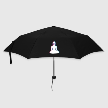 3D Buddha  with 3D glasses - Umbrella (small)