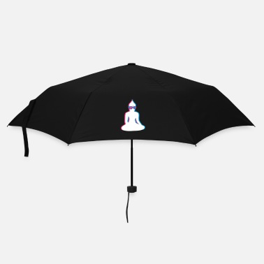 Spiritual 3D Buddha  with 3D glasses - Umbrella