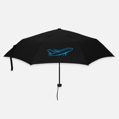 Drawing An airplane - Umbrella