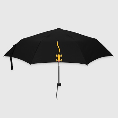 funny lizard  - Umbrella (small)