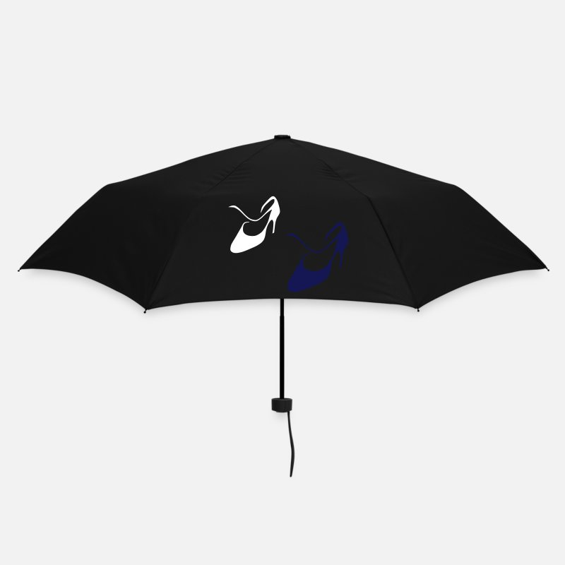 Italy Umbrellas - Argentine Tango - Women Dance Shoes - Design - Umbrella black