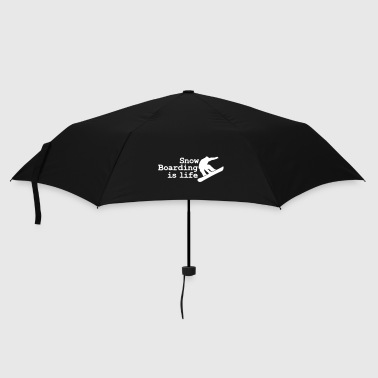 snowboarding is life - Umbrella (small)