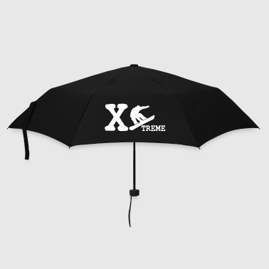 xtreme snowboarder - Umbrella (small)