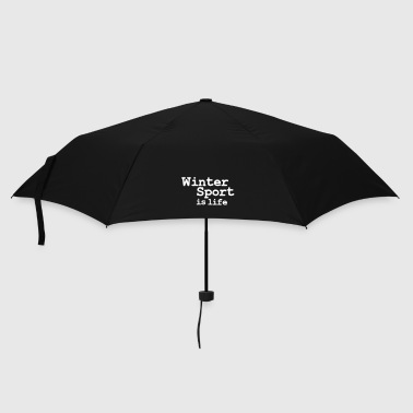 winter sport is life - Umbrella (small)