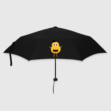 Funny Vintage Monster - Umbrella (small)