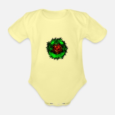 Wicca wicca - Organic Short-Sleeved Baby Bodysuit