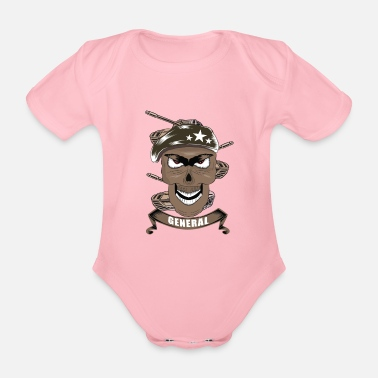 Soldier General soldier soldiers - Organic Short-Sleeved Baby Bodysuit
