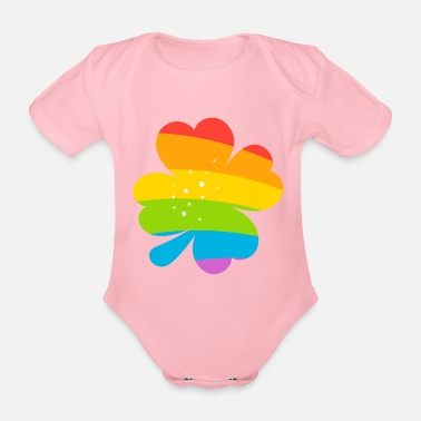 Lucky Charm LUCKY CHARMS - Organic Short-Sleeved Baby Bodysuit
