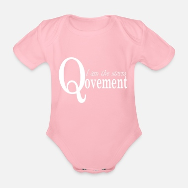 Movement Q-Anon Movement Presentidé - Ekologisk kortärmad babybody