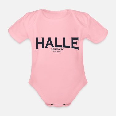 Hall Hall - Organic Short-Sleeved Baby Bodysuit