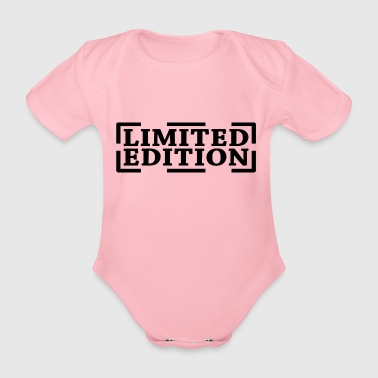 Limited Edition | Limited Edition - Baby bio-rompertje met korte mouwen
