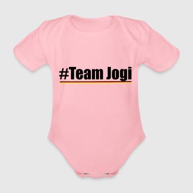 f2c1846c Team Jogi Black - Økologisk kortermet baby-body