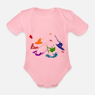 Freestyle Freestyle - Organic Short-sleeved Baby Bodysuit