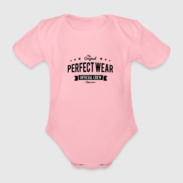perfect Wear - Baby bio-rompertje met korte mouwen