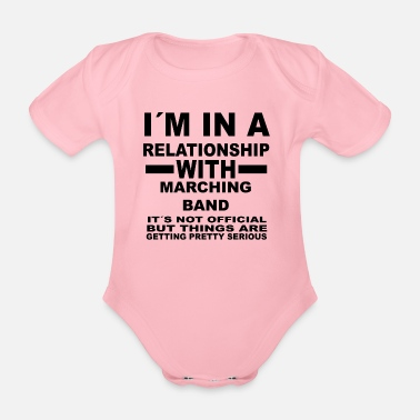 Relationship with MARCHING BAND - Organic Short-Sleeved Baby Bodysuit