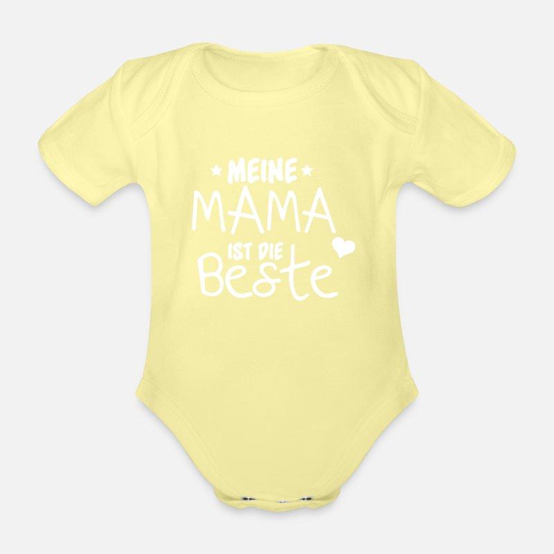 Meine Mama ist die Beste Baby Bio-Kurzarm-Body