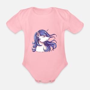 Licorne avec paillettes T-shirt premium Enfant   Spreadshirt 2bc9437af0e