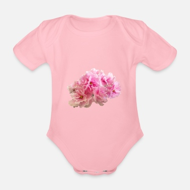 Bloom Trees 3 - Organic Short-sleeved Baby Bodysuit