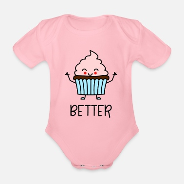 Kind Better Together Partnerlook (Part1) Muffin - Baby Bio Kurzarmbody