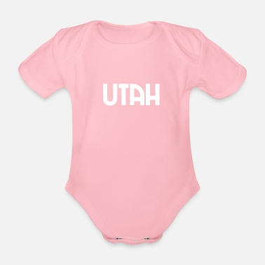 Us Utah - Salt Lake City - US - State - United States - Baby Bio Kurzarmbody