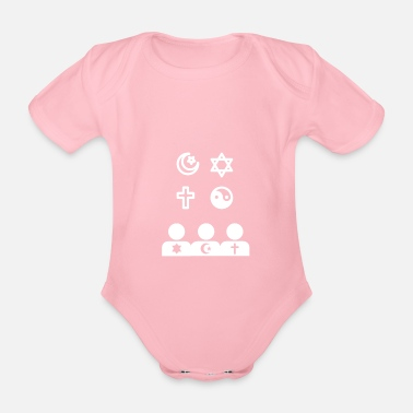 Religion religion - Organic Short-Sleeved Baby Bodysuit