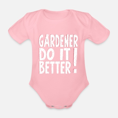 Rose Gardener do it better Used Look - Baby Bio-Kurzarm-Body