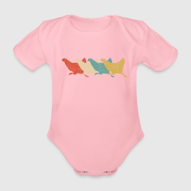 Chicken - Organic Short-sleeved Baby Bodysuit