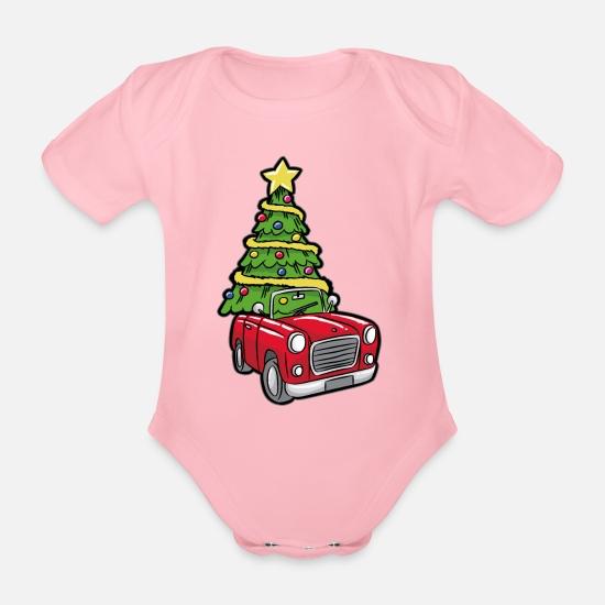 Tannenbaum Lustig.Tannenbaum Lustig Transport Baby Bio Kurzarmbody Spreadshirt