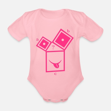 Pull The Root nerdthagoras - Organic Short-Sleeved Baby Bodysuit
